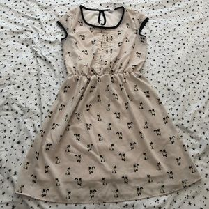 Novelty Print Siamese Cat Dress